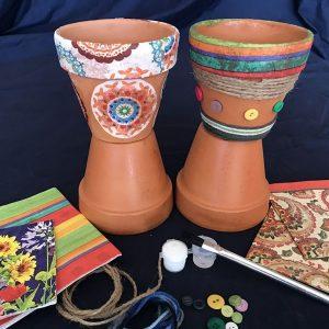 Decorative Terracotta Pot Art Kit