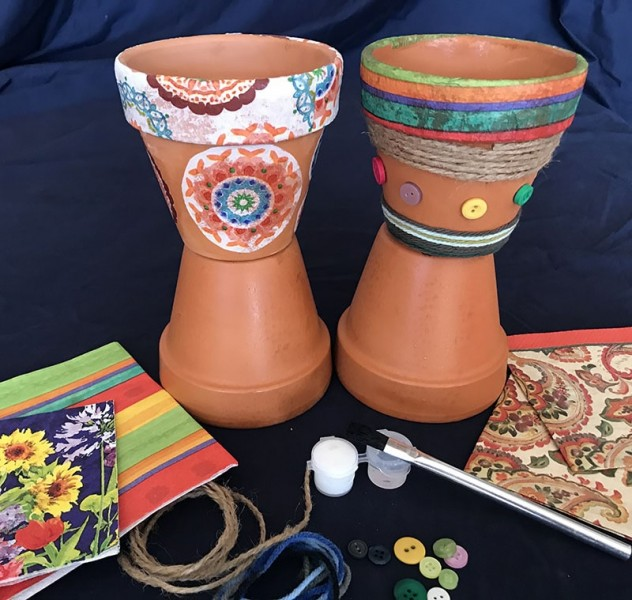 Decorative Terracotta Pot Art Kit