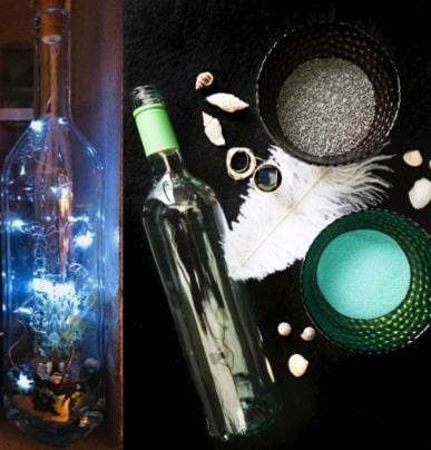Wine Bottle Solar Light Kit